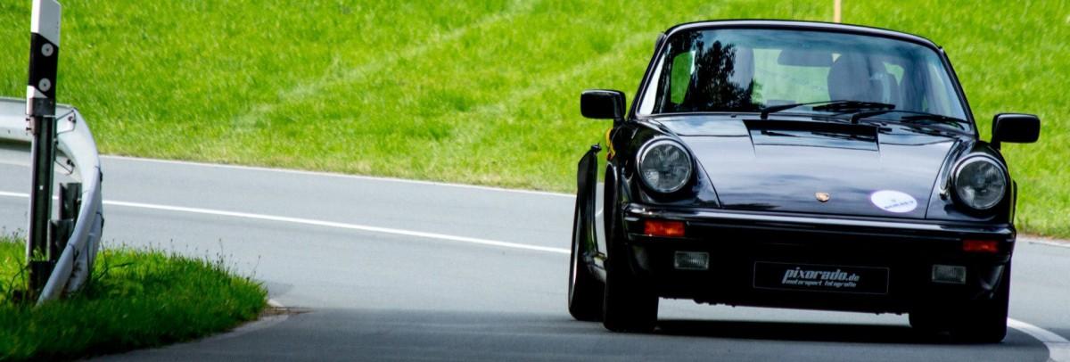 Schwarzer Porsche Oldtimer 1200x406 | Motorsportgemeinschaft Valmetal e.V.