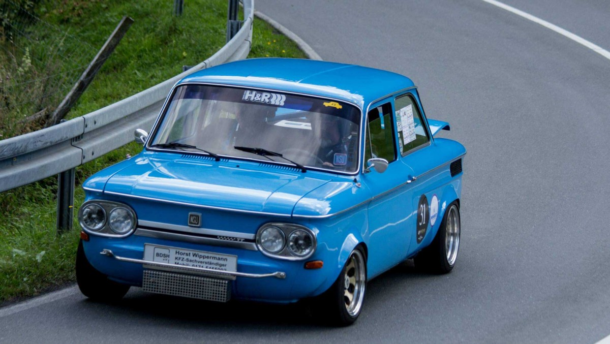 NSU Oldtimer Blau | Motorsportgemeinschaft Valmetal e.V.